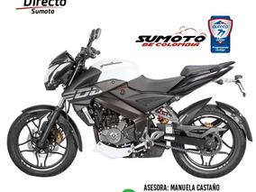 Pulsar Ns 200 2019! Nueva,casco,crédito Inmediato Medellín!!