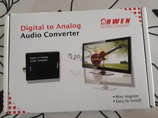 Audio Convertidor Digital