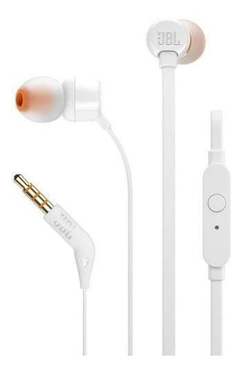 Fone De Ouvido Tune 110 Branco Jbl Com Nf E