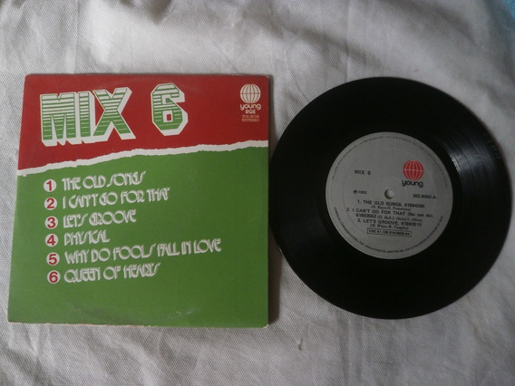 Lp Compacto Mix 6 Physical, Queen Of Hearts, 1982 Seminovo