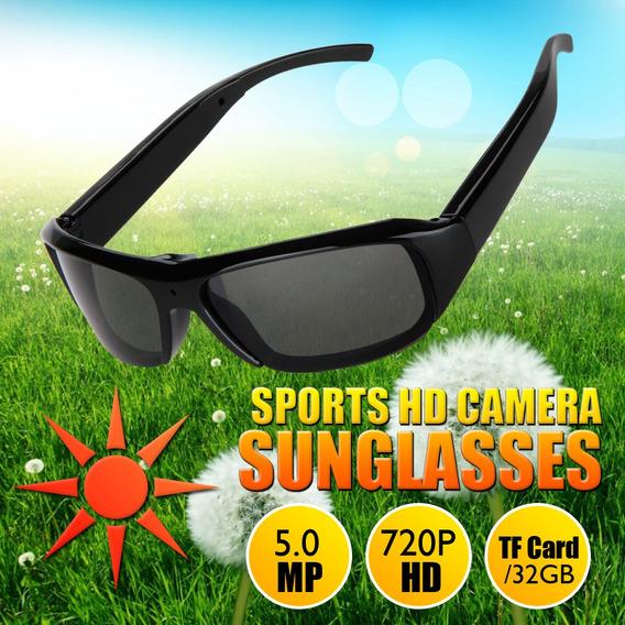 Gafas De Sol Espía Hd Con Grabador De Cámara De Vídeo Dig