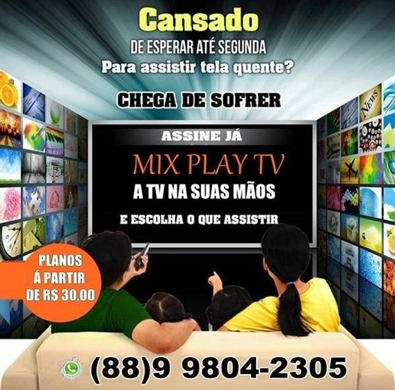 Pacote Mix Play + 13 Mil Conteúdos, Ao Vivo + Filmes E Serie