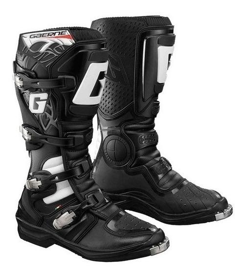 Botas Gaerne Gx1 Evo Enduro Motocross Italiana Negra