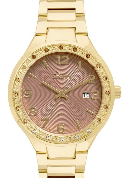 Relógio Condor Feminino Eterna Bracelete Dourado Co2115up/4f