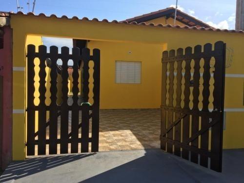 Casa Lado Praia No Recanto Bandeirantes Em Itanhaém-6074 Npc
