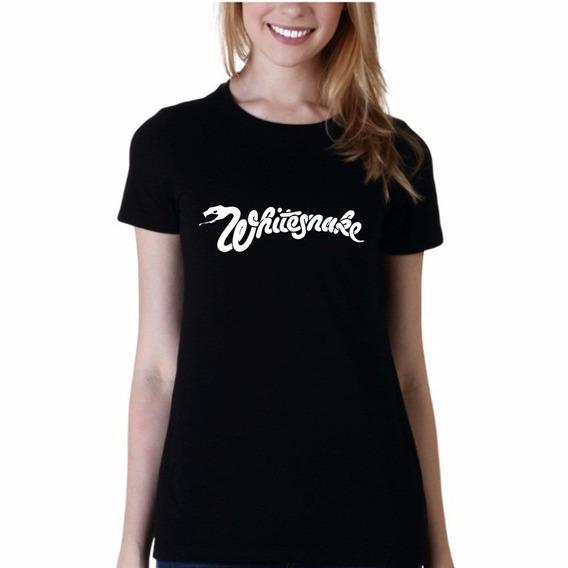 Remera De Hombre Whitesnake Rock Musica