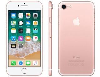 iPhone 7 32gb Novo Rose Original 1 Ano De Garantia Apple!