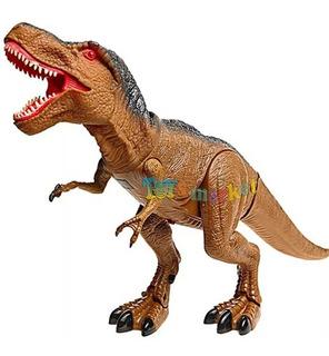 Tiranosaurio Rex Dinosaurio Camina Luz Y Sonido Jurassic