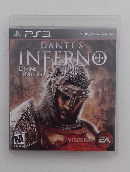 Jogo Dantes Inferno Ps3 - Divine Edition - Mídia Física - Cd
