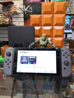 Consola Nintendo Switch Con Juego Fifa 18 Dock Y Eliminador