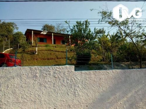 Chácara Com 2 Dormitórios À Venda, 922 M² Por R$ 250.000,00 - Trevo - Santa Isabel/sp - Ch0046