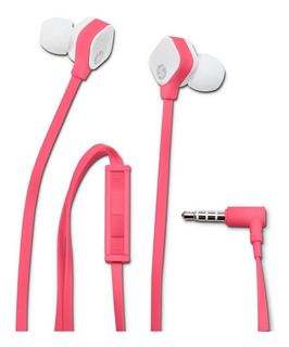 Auriculares Hp In-ear C/mic Cable Plano Anti Nudo In-ear