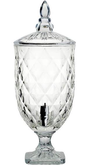 Suqueira Cristal Para Água Ou Bebidas 4,9 Litros Hauskraft