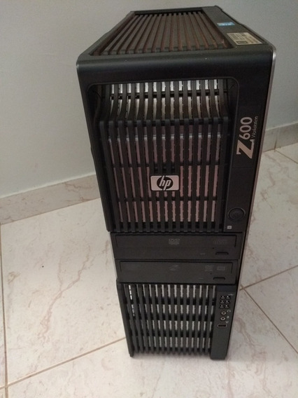 Barato Computador Servido Hp Z600 Xeon E5606 2.4gb 2gb Video
