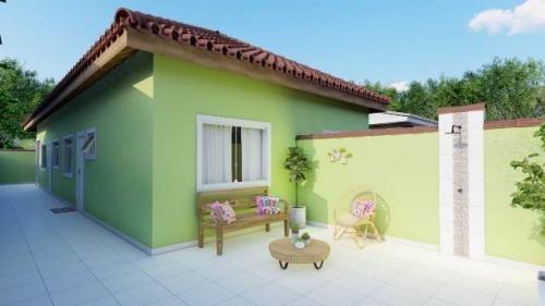 Casa Nova À Venda Em Itanhaém. 7663 M H