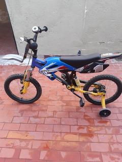 Bicicleta Moto Cross