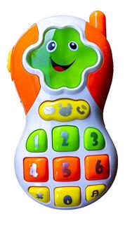 Telefono Juguete Celular Sonidos Luces Y Melodias Para Bebe