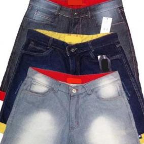 Kit 20 Short Bermuda Jeans Masculina De Marca Skinny Só Hoje