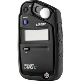 Fotômetro Sekonic L-308x Medidor De Luz Flashmate C/ Nf