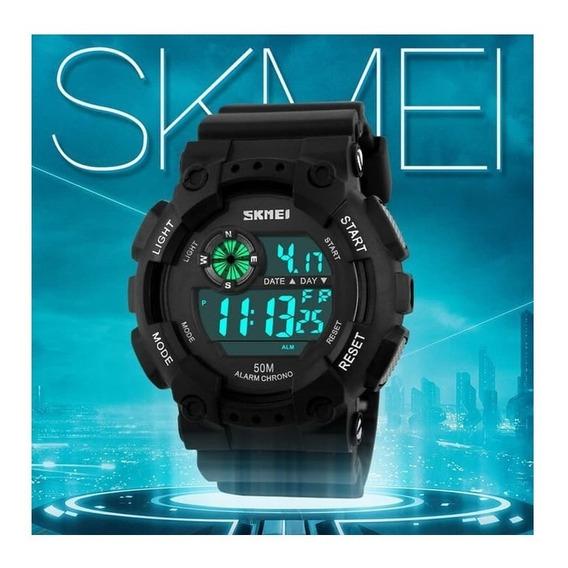 Relógio Skmei 1101 Esportivo Led Original Promoção C/caixa