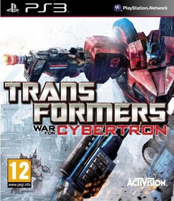 Jogo Transformers War For Cybertron Ps3 Game Frete Grátis!