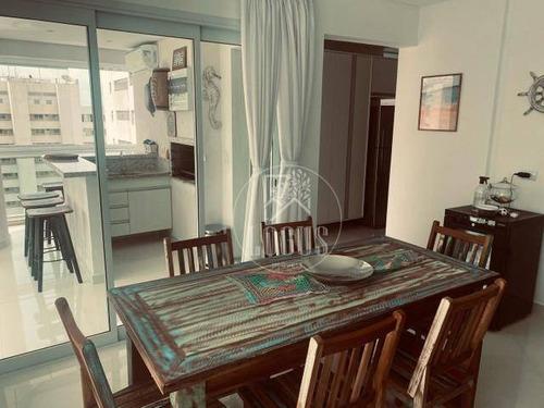 Imagem 1 de 18 de Apartamento Com 3 Dormitórios Sendo 3 Suítes À Venda, 180 M² Por R$ 1.695.000 - Centro - Guarujá/sp - Ap1569
