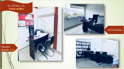 Oficinas Amobladas En Alquiler