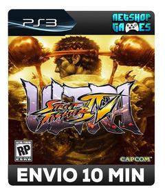 Ultra Street Fighter Iv - 4 - Psn Ps3 - Pronta Entrega