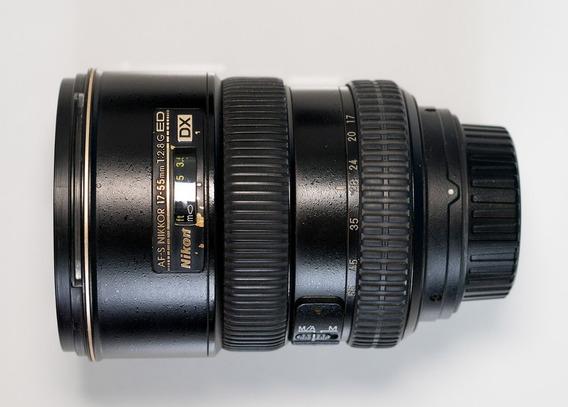 Lente Nikon 17-55mm F2.8 Conservada Sem Defeitos Sem Fungos
