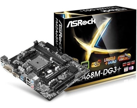 Kit Gamer Fm2 Asrock + Fusion A6 7480 Box + 8gb