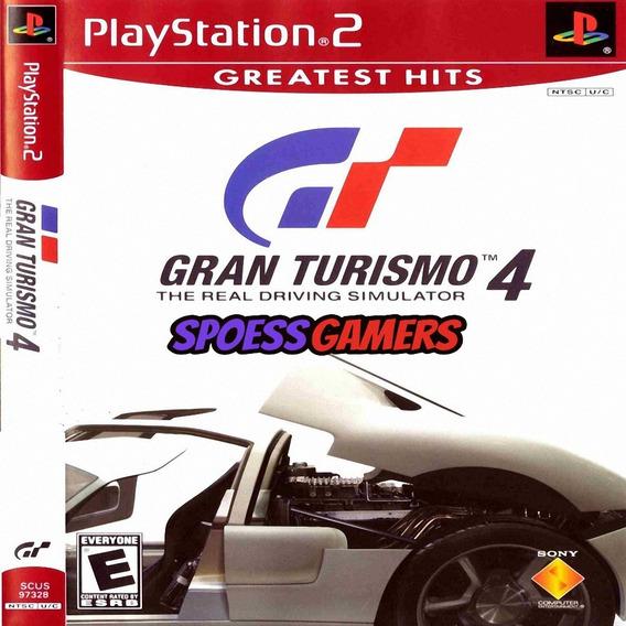 Gran Turismo 4 ( Corrida ) Ps2 Desbloqueado Patch