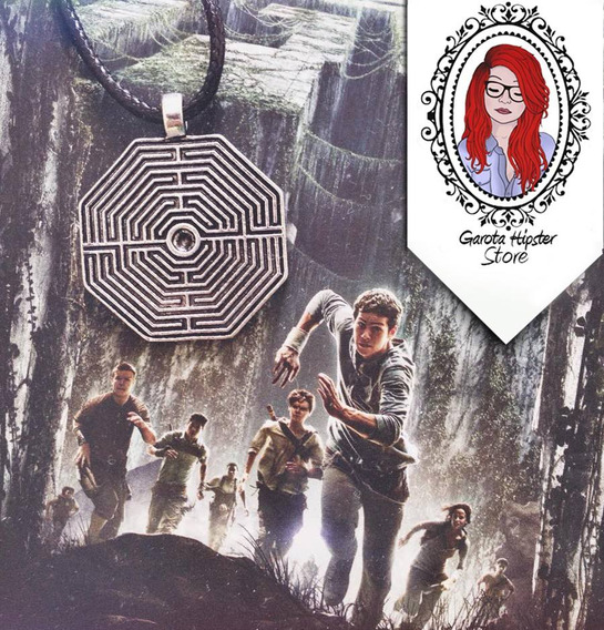 Colar Labirinto Thomas The Maze Runner