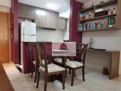 Apartamento Com 2 Dormitórios À Venda, 64 M² Por R$ 270.000 - Urbanova - São José Dos Campos/sp - Ap2283