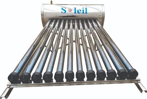 Calentador Solar Soleil 12 Tubos Oferta Msi