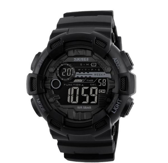 Relógio Masculino Digital Skmei Modelo 1243 Preto Original