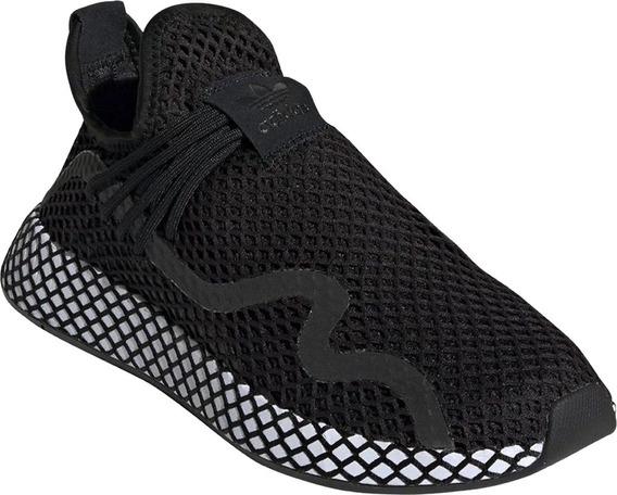 Tenis adidas Deerupt S Originals Core Black Bd7879.