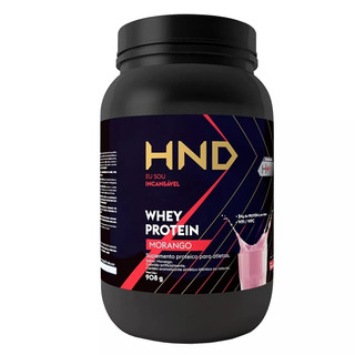 Whey Protein Hinode Original 908g Sabor Morango Código 17500
