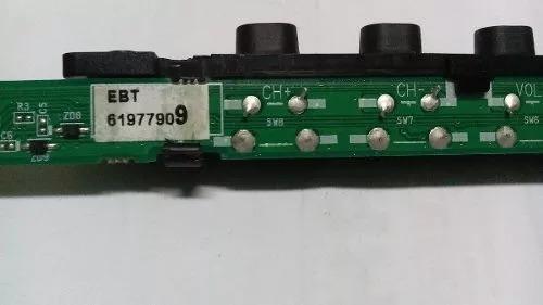Kit Lvds Flat Cabos Sensor Ir Botão Alto Falantes 50pm4700