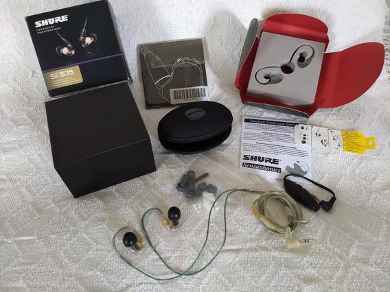 Shure Se535 Original- Fone In Ear Monitor Retorno Troca
