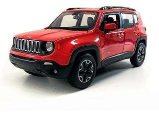 Miniatura Jeep Renegade Escala 1 24 Maisto Metal Com Caixa