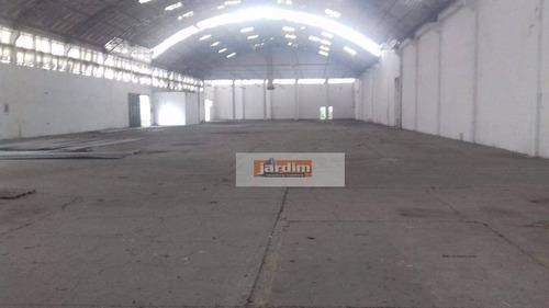 Galpão Industrial Para Venda E Locação, Independência, São Bernardo Do Campo. - Ga0142