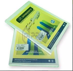 Transparência 100 Microns A4 Para Impressora Laser 100 Fls