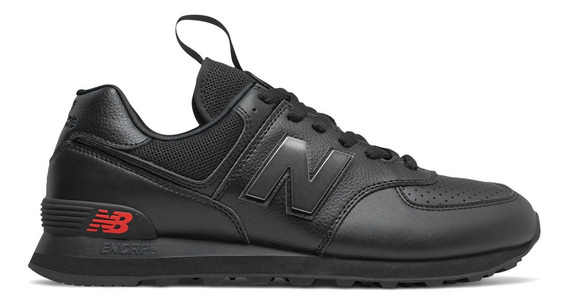 Zapatillas Moda New Balance Ml574sow Negra - Hombre Urbana