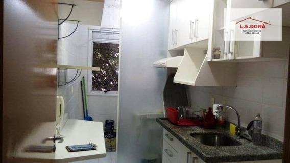 Apartamento Com 2 Dormitórios À Venda, 54 M² Por R$ 300.000 - Jardim Das Vertentes - São Paulo/sp - Ap2156