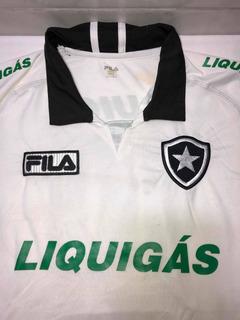 Camisa Do Botafogo Fila Liquigas 10 Branca