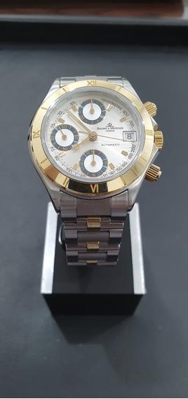 Relógio Suíço Baume Et Mercier Malibu Automatico Eta7750