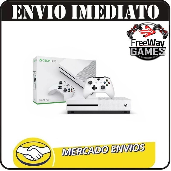 Video Game Xbox One S 500 Gb + Nota Fiscal Eletrônica