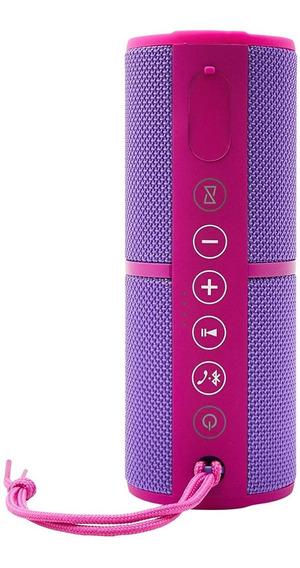 Caixa De Som Resistente À Água Com Bluetooth Rosa Pulse - Sp