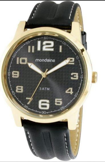 Relógio Masculino Casual Mondaine 83121gpmbdh1 Analógico