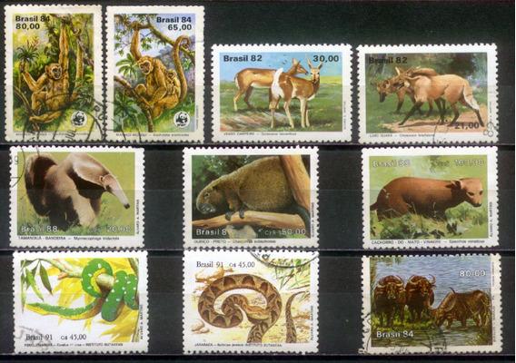 Fauna - Coleção De Selos Brasileiros - 324